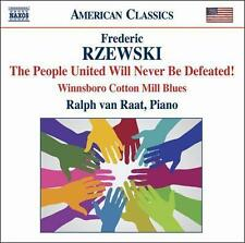 Rzewski: The People United Will Never Be Defeated, New Music