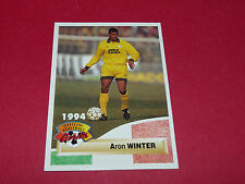 ARON WINTER S.S. LAZIO LAZIALE NEDERLAND CALCIO ITALIA FOOTBALL CARD PANINI 1994