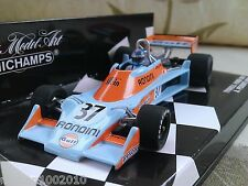 #37 Tyrrell Ford 007 Gulf Rossi 1976 Diecast Model F1 Car 1/43 Minichamps
