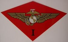Window Bumper Sticker Military Marine 1st First Air Wing NEW Decal