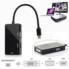 Mini Display Port DP to HDMI VGA DVI Converter for Microsoft surface pro 3in1 TL