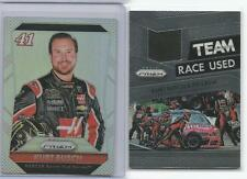 KURT BUSCH Lot of 2 2016 Prizm Raced Used Tire 1 Base Refractor