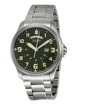 NEW Victorinox Swiss Army Men's 241291 Infantry Stainless Steel Watch
