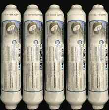 Post Inline Carbon GAC Water Filter 5 Pack Reverse Osmosis RO Ice T/33