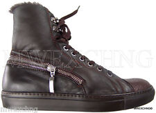 $980 Cesare Paciotti US 8 Shearling Deer Skin Ankle Boots Italian Shoes