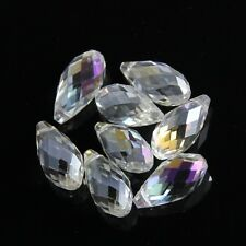 4pcs 10X20mm Swarovski Teardrop  crystal bead A Clear AB