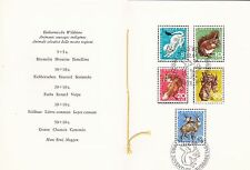 Switzerland 1966 Pro Juvente Set in booklet FDC