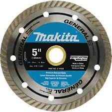 "Makita Tools A-94568 5"" Diamond Masonry Grinder Blade Turbo Rim General Purpose"