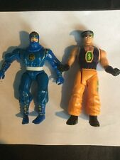 Two Action Figures Ninja Karate Streetfighter Double Dragon