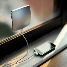 2890mAh XD Window Mounted Solar Charger Power Bank with Sucker for Mobile phone