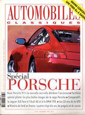 REVUE MAGAZINE AUTOMOBILES CLASSIQUES N°86 11/1997 PORSCHE 911 JAGUAR AUDI BMW