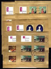Poland - 1967 Paintings - Mi. 1808-15 KB FU