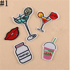 DIY Jacket Jean Bag Clothes Embroidery Iron On Patch Badge Fabric Applique G1341