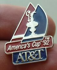 VINTAGE PIN  AMERICA'S CUP SAN DIEGO CALIFORNIA 1992 AT&T
