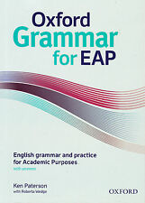 Oxford GRAMMAR FOR EAP @BRAND NEW@ ENGLISH GRAMMAR FOR ACADEMIC PURPOSES