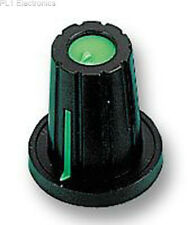 MULTICOMP - CP-WB-D-4 - KNOB, PUSH-ON, D SHAFT, GREEN,Price For:   5
