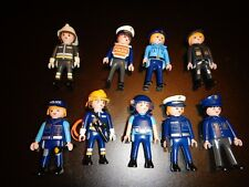 Playmobil lot de policier / police figures / Polizei