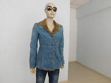 Art.200. montone donna guess vintage,sheepskin jacket.