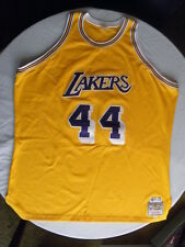 Mitchell Ness M&N Los Angeles LA Lakers Jerry West Authentic Jersey size 56 3XL