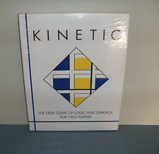 KINETIC 1996 The Game Of Logic And Strategy For Two Players Board Games Fun New