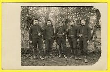 cpa CARTE PHOTO GUERRE 1914 Poilus Militaires Soldats 25eme Régiment