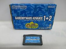 GBA -- Game Boy Wars 1 + 2 -- Box. Can data save! Game Boy Advance, JAPAN. 42329