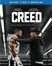 Creed (Blu-ray/DVD, 2016, 2-Disc Set, Canadian)