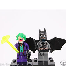 Dc comic Super Hero Batman and Joker Mini Figures - Fit Lego