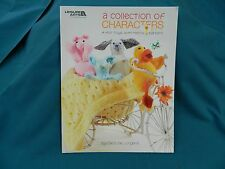 A Collection Of Characters Knitting Book by Leisure Arts