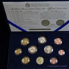 """Malta KMS 2013 im Etui mit 2 Euro Sondermünze mit Münzzeichen """"Selbstverwaltung"""""""