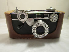 Vintage Argus C-3 35mm Camera Coated Cintar 50mm F3.5 Lens For Parts or Repair