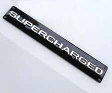Auto Car Badge Decals Emblems for Black Supercharged Land Range Rover Evoque NEW