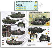 """Echelon 1/35 #D356195 Ukrainian AFVs """"Ukraine-Russia Crisis Pt.3 BMP-2 & T-64BV"""""""
