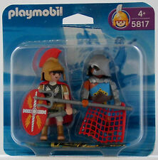 BLISTER DUO PACK ROMAN AND GLADIATOR Playmobil 5817 v.`06 zu 4275 4273