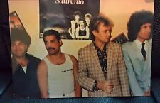 QUEEN photo San Remo (Italy) 1984 kodak