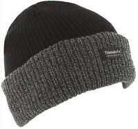 Thinsulate Knitted Mens Warm Winter Wooly Outdoor Chunky Thermal Beanie Ski Hat