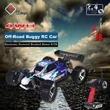Wltoys A959 1/18 Scale 2.4G 4WD RTR Off-Road Buggy RC Car Blue USA