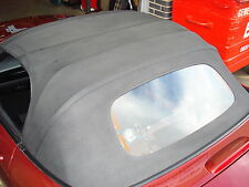 Mazda MX5 MK3 Black Vinyl Hood / Glass Window Soft-Top
