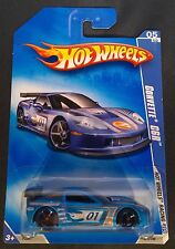 2009 Hot Wheels - Corvette C6R (Blue) - P2391-0919L