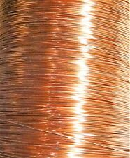 22 Gauge Soft Annealed Bare Copper Building Ground Wire Made In USA (1500 FT)