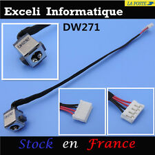 Ordinateur portable toshiba satellite c650-187 power socket dc jack avec cable