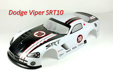 1/10 Painted RC Car Dodge Viper Body Shell 190mm (A047) White