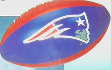 NFL : New England Patriots 14 inch Inflatable Football - New and Sealed.