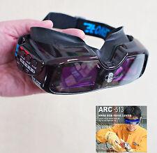 New HQ WORLD FIRST SERVORE ARC-513 Auto Darkening Welding GOGGLE Shade #5-13