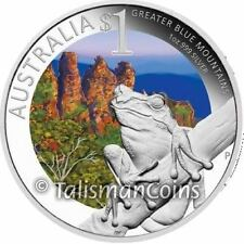 Celebrate Australia 2011 ANDA Coin Show Special Sydney Tree Frog $1 Silver Proof