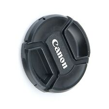 72mm 72 mm Front Lens Cap Center Snap on Lens cap for Canon with Leash