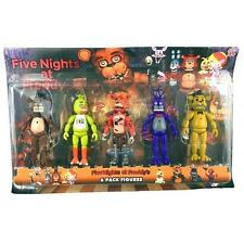 "NEW 5PCS A Set  Fnaf Five Nights at Freddy's 6"" Action Figures With Light ToysSN"