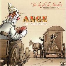 """RARE! CD ANGE EN CONCERT """"PAR LES FILS DE MANDRIN"""" 1977, 9 TITRES, NEUF, SCELLE"""