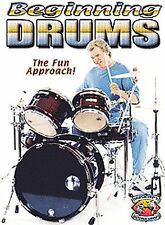 Beginning Drums with Paul Murski (DVD, 2004) *NEW*  The Fun Approach!