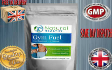 GYM FUEL - PREWORKOUT PILLS - MUSCLE GAIN FAT BURN WEIGHT LOSS ENERGY DIET PILLS
